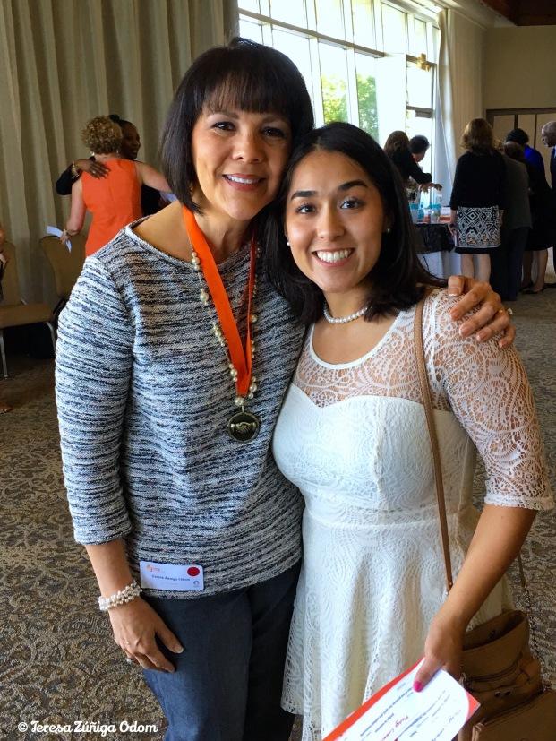 My nominator, Vanessa Vargas!