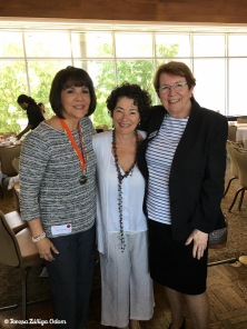 With Tina Savas and Ellyn Grady