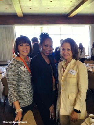 With Jestina Howard and Suzanne Martin