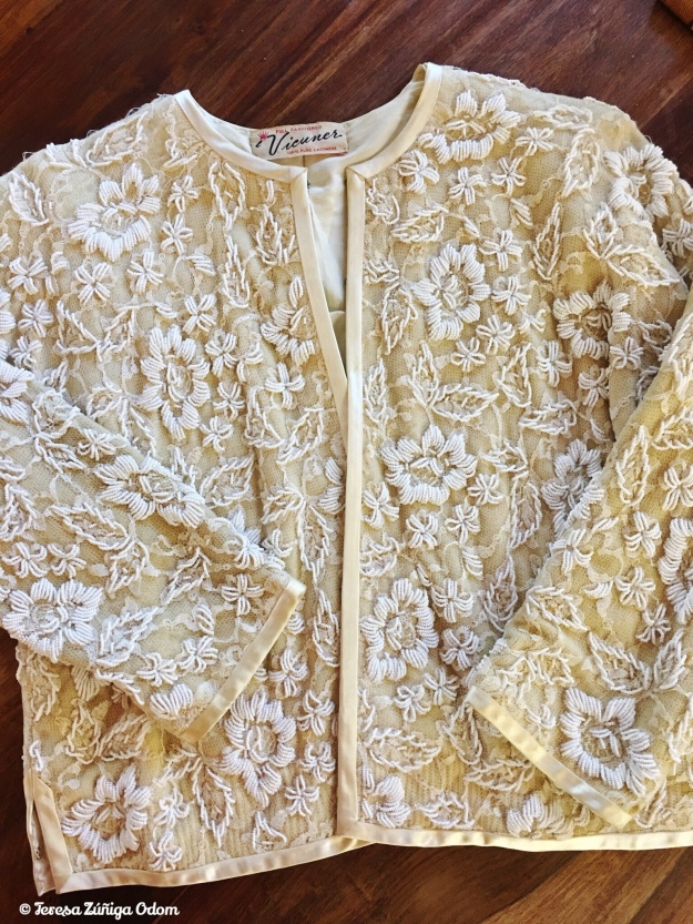 77a5ff86f41 The Vintage Beaded Sweater Made in Hong Kong