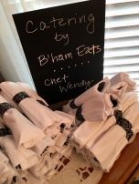 Chef Wendy Bowman of Bham Eats provided the catering
