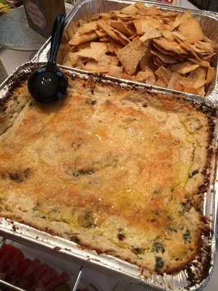 Spinach, parmesan and artichoke dip
