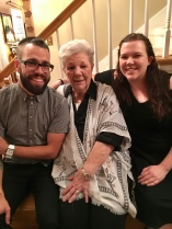 Mom with her grands - Adam and Kirsten