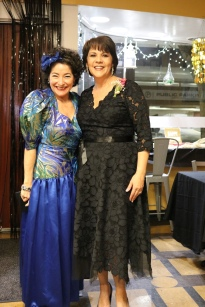 With Tina Savas - she got this dress at the thrift store for $8! Love her style!