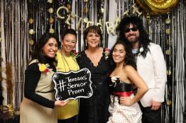 Cristina Almanza, Emily Redmond, me, Vanessa Vargas and Chris Miller