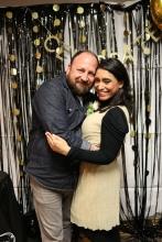 Jerrod Brown and Cristina Almanza