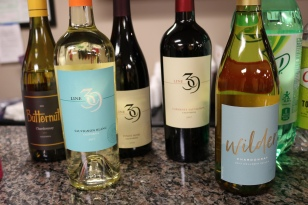 Wine selection for the party -
