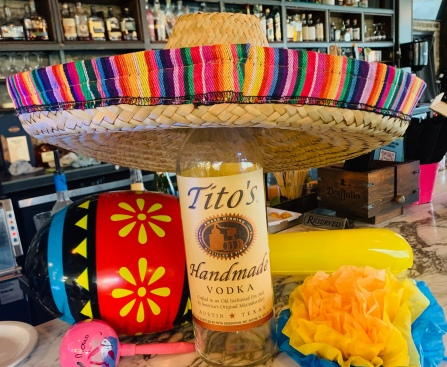 Love our sponsor - Titos!
