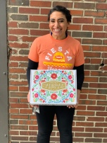 Cristina Almanza designed our Fiesta in a Box to benefit Fiesta Scholarship fund!