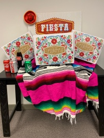 Facebook Live Fiesta Scholarship backdrop