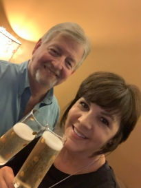 Cheers to the 38th anniversary of when we first met!