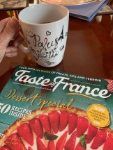 Incredible magazine I found at Barnes and Noble about all things France!
