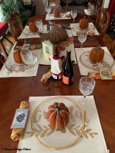Thanksgiving table 2020