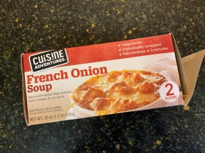 Trader Joes French Onion Soup wasn't half bad!