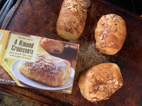 Trader Joes Almond Croissants - these were amazing!