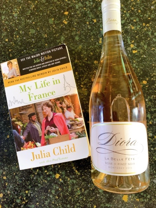 A good book and good wine