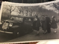 My mom, grandmother and aunt in Paris in the 1950s